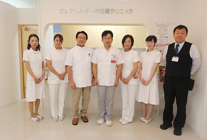 広島アレルギー呼吸器クリニックでは、アレルギー・呼吸器に関する疾患を中心に診療しております。