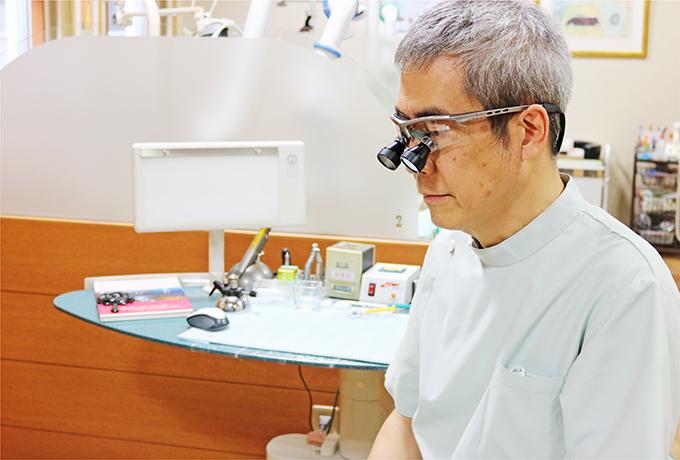一人一人の患者様にあった技法で、一本一本の歯にあった治療をご提案します。