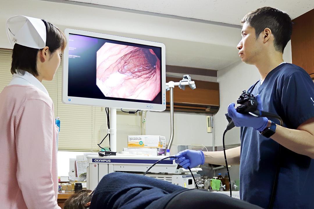 2019年に、東京で消化器内科を専門とし内視鏡検査やエコー検査を中心に診療を行っていた医師を新たに迎えました。