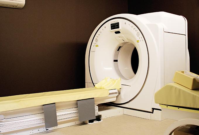 低線量肺がんCT検診では、早期肺がんの発見にも有効な検査とされる先進技術を備えたマルチスライスCTを使用します。