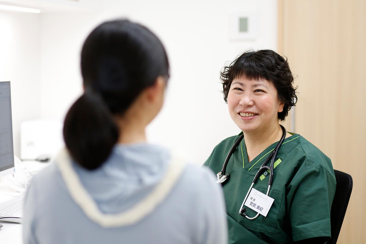 アレルギー疾患に悩まされている方や呼吸器疾患の疑いがある方を中心に、かかりつけ医として寄り添っていけるようなクリニックを目指しています。