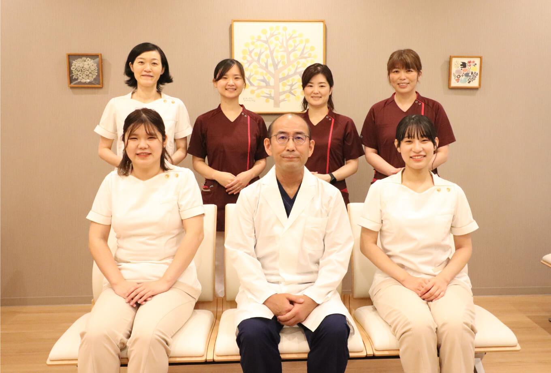 患者さんの目線で分かりやすい説明を行い、寄り添いつつご希望に沿った治療を行います。